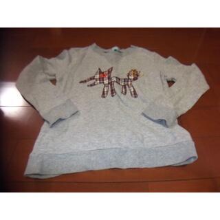 ハッカキッズ(hakka kids)のhakka kids 男児 トレーナー サイズ130 おおかみ(Tシャツ/カットソー)