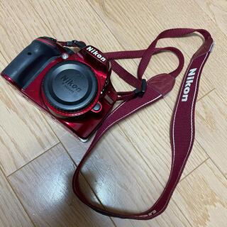 ニコン(Nikon)のNikon D3200 レッド(デジタル一眼)