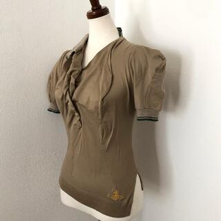 ヴィヴィアンウエストウッド(Vivienne Westwood)のヴィヴィアンウエストウッド ロンドン 変形・アシンメトリー・ポロシャツ(シャツ/ブラウス(半袖/袖なし))