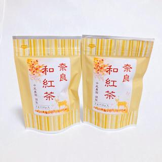 奈良県産 中尾農園 大和高原茶 和紅茶 ティーバッグ