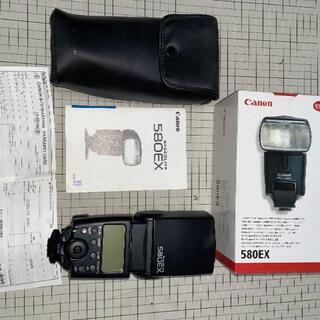 キヤノン(Canon)のCanon ストロボ SPEEDLITE 580EX(ストロボ/照明)