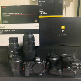 ニコン(Nikon)の値段交渉あり Z7フルセット 総額1,000,000以上(ミラーレス一眼)