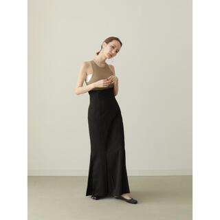 louren / mermaid pleats skirt