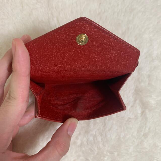 miumiu(ミュウミュウ)のmiumiu ラブレターウォレット 財布 レディースのファッション小物(財布)の商品写真