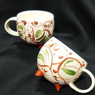 ペアマグカップ三つ脚(グラス/カップ)