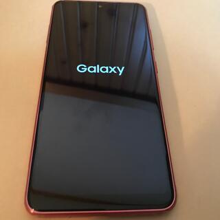 Galaxy - Galaxy A21 SC-42A  レッド docomo  simロック解除
