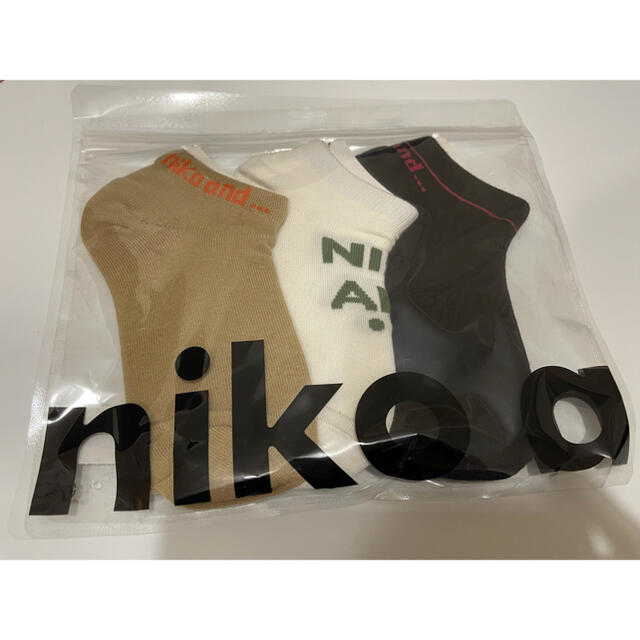 niko and...(ニコアンド)のニコアンド 靴下セット レディースのレッグウェア(ソックス)の商品写真