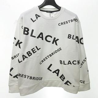 BLACK LABEL CRESTBRIDGE - ブラックレーベルクレストブリッジ 近代モデル バックフリースロゴスウェット L