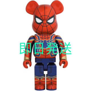 MEDICOM TOY - be@rbrick iron spiderman 1000%