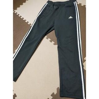アディダス(adidas)の☆adidas アディダス ジャージバンツ 黒&白線 サイズL(その他)