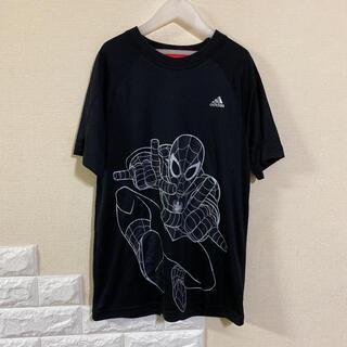 adidas - 【美品】 アディダス ×スパイダーマン Tシャツ 160