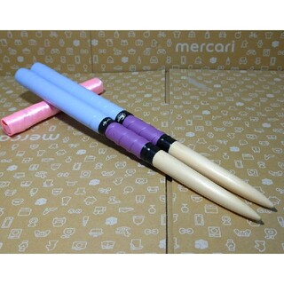 太鼓の達人 マイバチ 米ヒバ 薄紫 紫色(パーカッション)