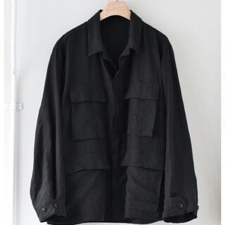COMOLI - comoli リネン b.d.u. jacket 20ss