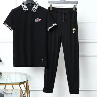 FENDI - Fendi フェンディ 折襟Tシャツセットアップ