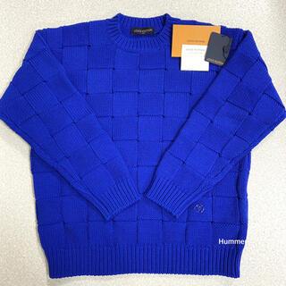 LOUIS VUITTON - 国内正規品 20SS 未使用同様 ルイヴィトン ダミエ ニット セーター