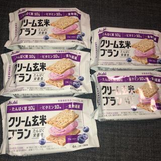 アサヒ - クリーム玄米ブラン ブルーベリー
