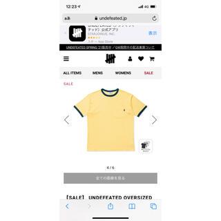 アンディフィーテッド(UNDEFEATED)のundefeated メッシュtシャツ(Tシャツ/カットソー(半袖/袖なし))