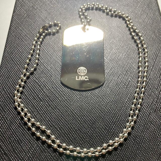 早い者勝ち!LMC シルバー ネックレス ドックタグ 韓国 メンズのアクセサリー(ネックレス)の商品写真