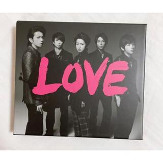 アラシ(嵐)の嵐 LOVE 初回限定盤(CD+DVD)(ポップス/ロック(邦楽))