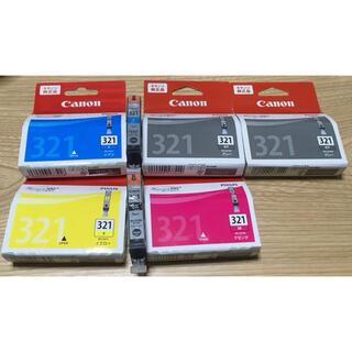 キヤノン(Canon)のCanon純正 BCI321 シアン、マゼンダ、イエロー、ブラック、グレー(オフィス用品一般)