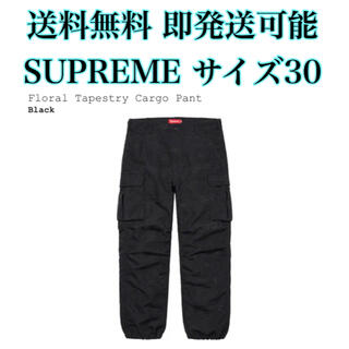Supreme - Supreme Floral Tapestry Cargo Pant Black