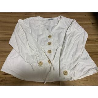 ザラ(ZARA)のzara コーデュロイシャツ(シャツ/ブラウス(長袖/七分))