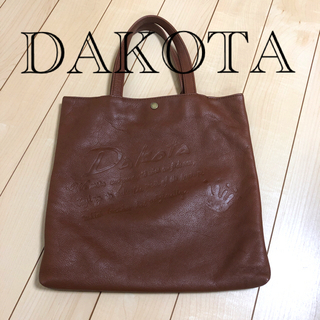 Dakota - ダコタ 本革 ハンドバック ブラウン