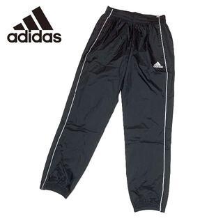 アディダス(adidas)の新品 Lサイズ アディダス ロング パンツ 撥水 レイン ナイロン ブラック(その他)
