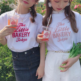 who's who Chico - The Little BAKERY TokyoコラボロゴT rili tokyo