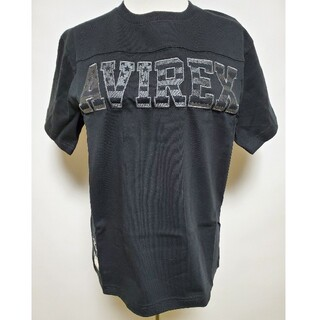 AVIREX - ☆AVIREX新品M☆Tシャツ LOGO FOOTBALL TEE