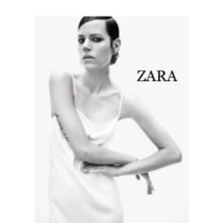 ザラ(ZARA)のZARA ローカットバックオープンワンピース 完売¥10990 S(ロングワンピース/マキシワンピース)