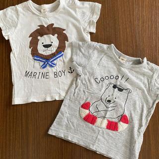 キムラタン(キムラタン)のTシャツ 90cm  2枚セット(Tシャツ/カットソー)
