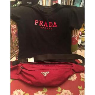 PRADA - PRADA ナイロンウエストポーチ ボディバッグ プラダ