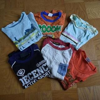 120 Tシャツ 6枚セット(Tシャツ/カットソー)