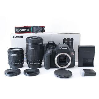 Canon - 【ほぼ新品】Canon EOS kiss X9i STMダブルレンズキット