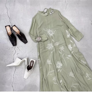 Ameri VINTAGE - 【人気色】ameri 2WAY FLOWER GARDEN DRESS