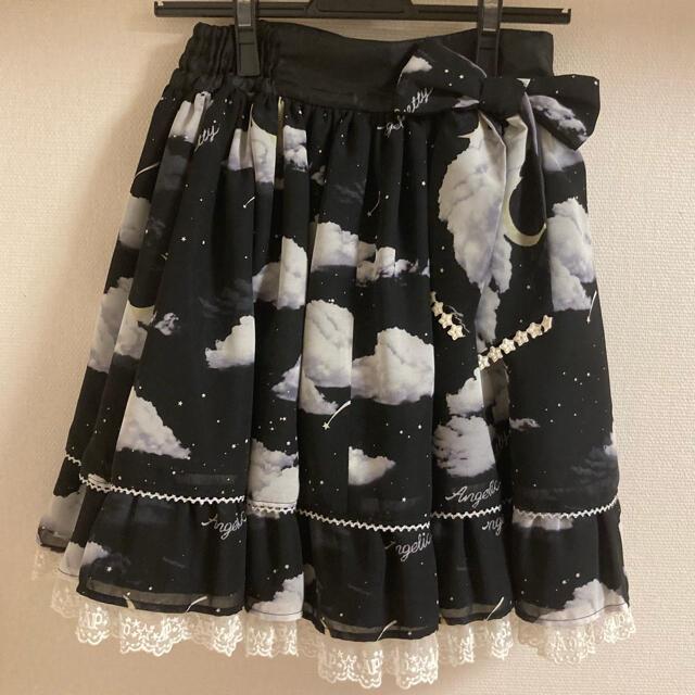Angelic Pretty(アンジェリックプリティー)のAngelic Pretty misty sky スカート レディースのスカート(ひざ丈スカート)の商品写真