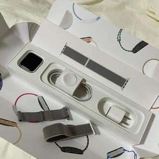 アップルウォッチ(Apple Watch)のApple Watch Series 4(GPS + Cellular)40mm(腕時計(デジタル))