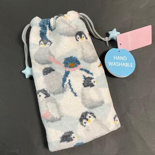 フェイラー(FEILER)の新品♡フェイラー LOVERARY♡ペットボトルポーチ♡ペンギンアイランド(ポーチ)
