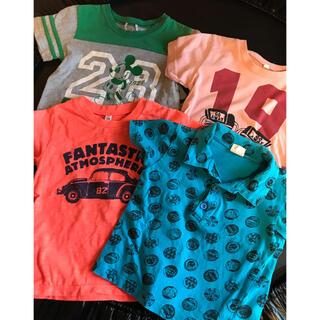 NO.13  Tシャツ  4枚 110cm(Tシャツ/カットソー)