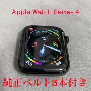 Apple Watch - Apple Watch series4 アップルウォッチ★ベルト3本付き★
