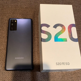 SAMSUNG - サムスン s20 FE ブルー SIMフリー