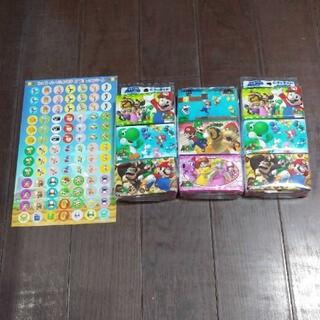 スーパーマリオ シール&ポケットティッシュ(ゲームキャラクター)