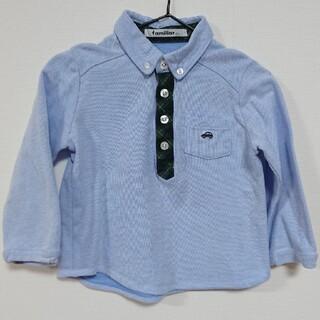 familiar - ファミリア  familiar シャツ  ポロシャツ 100