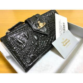 Vivienne Westwood - 【新品未使用】Vivienne Westwood  レザー長財布 クロコ型押し