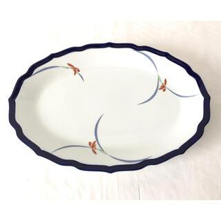 コウランシャ(香蘭社)の香蘭社*オーキッドレース*オーバル皿*楕円皿*大皿*(食器)