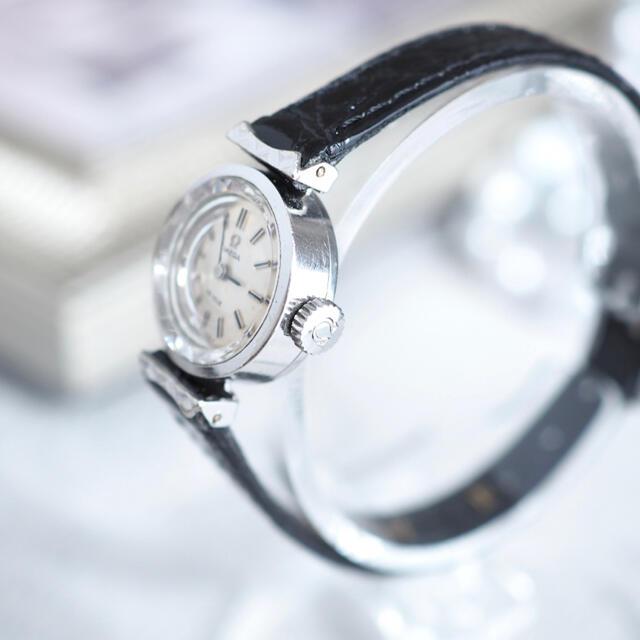 OMEGA(オメガ)の美品✨OMEGA K18 20μ カットガラス✨トゥモローランド agete レディースのファッション小物(腕時計)の商品写真