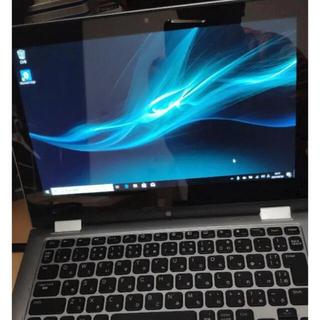 デル(DELL)の2in1 タブレット ノート パソコン DELL 3157 ジャンク扱い(ノートPC)