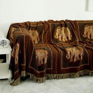 北欧風   新品未使用品超人気 ソファーカバー   の毛布    ソファー毛布