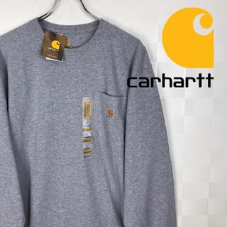 カーハート(carhartt)の新品 未使用品 カーハート  ワンポイント 無地 ポケット ロンtee(Tシャツ/カットソー(七分/長袖))